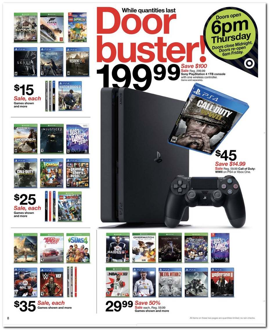 $199 PS4 / Games