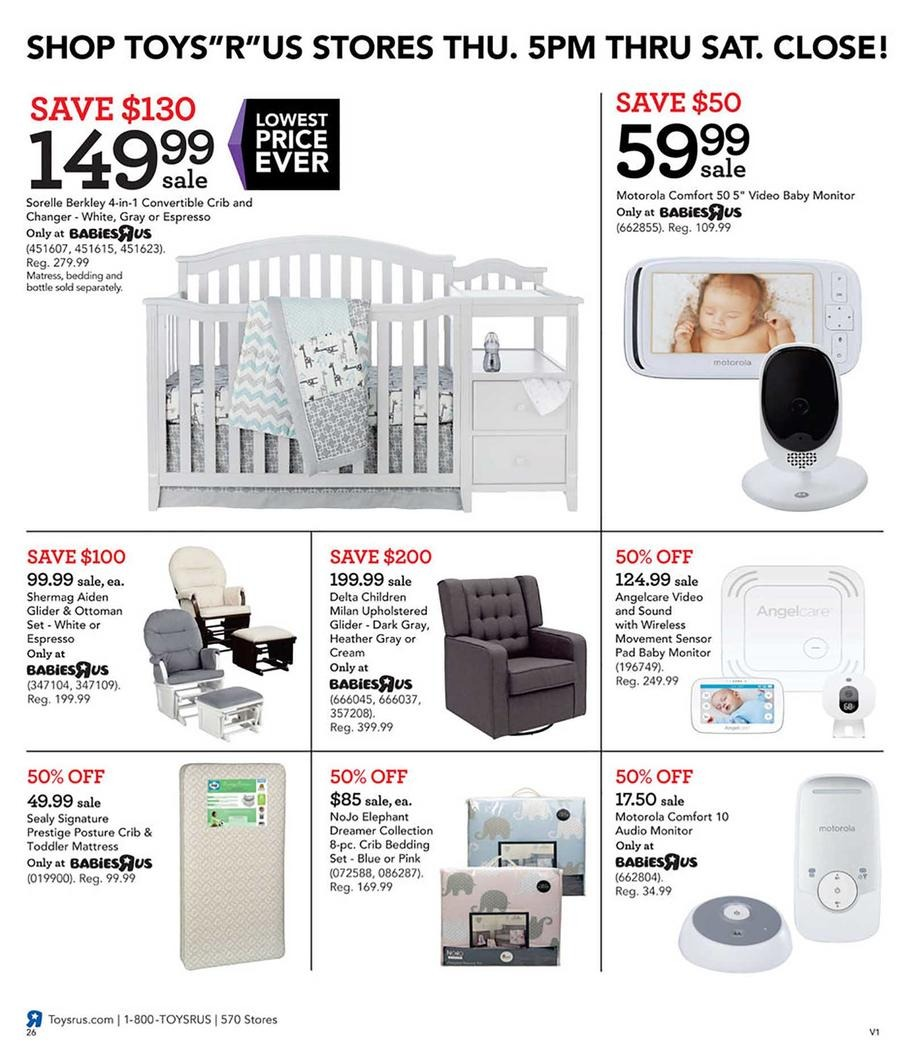 Cribs / Baby Monitors