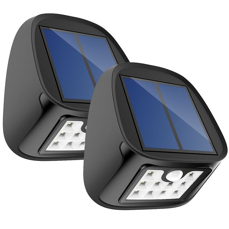 2-Pack Aptoyu 10 LED Outdoor Solar Motion Sensor Lights  $8.99 at Amazon online deal