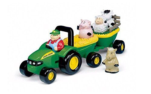 Amazon has the John Deere Animal Sounds Hayride (34908) for $8.99 with free  shipping on $25+ or with Prime. Animals make sounds when pushed in their  correct ...