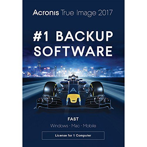 Acronis True Image 2017 Backup Software (3 Devices)  $0 at Newegg online deal