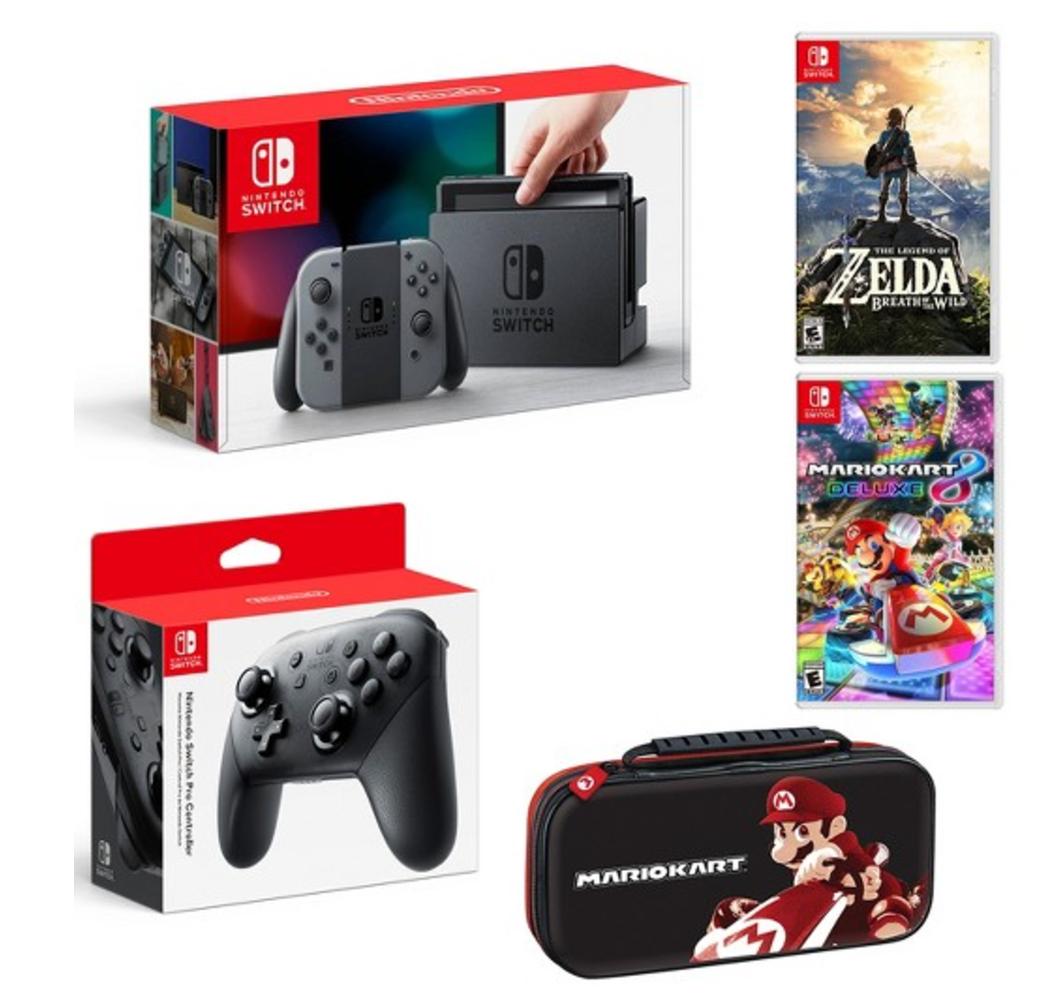 Nintendo Switch Starter Bundle At Target Ben S Bargains