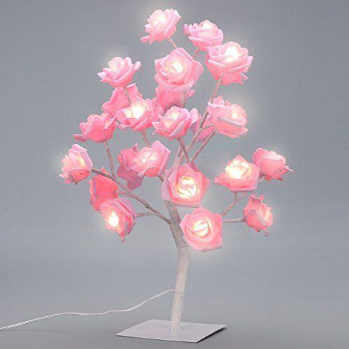 Furnizone 24 Led Rose Tree Table Lamp 16 At Amazon