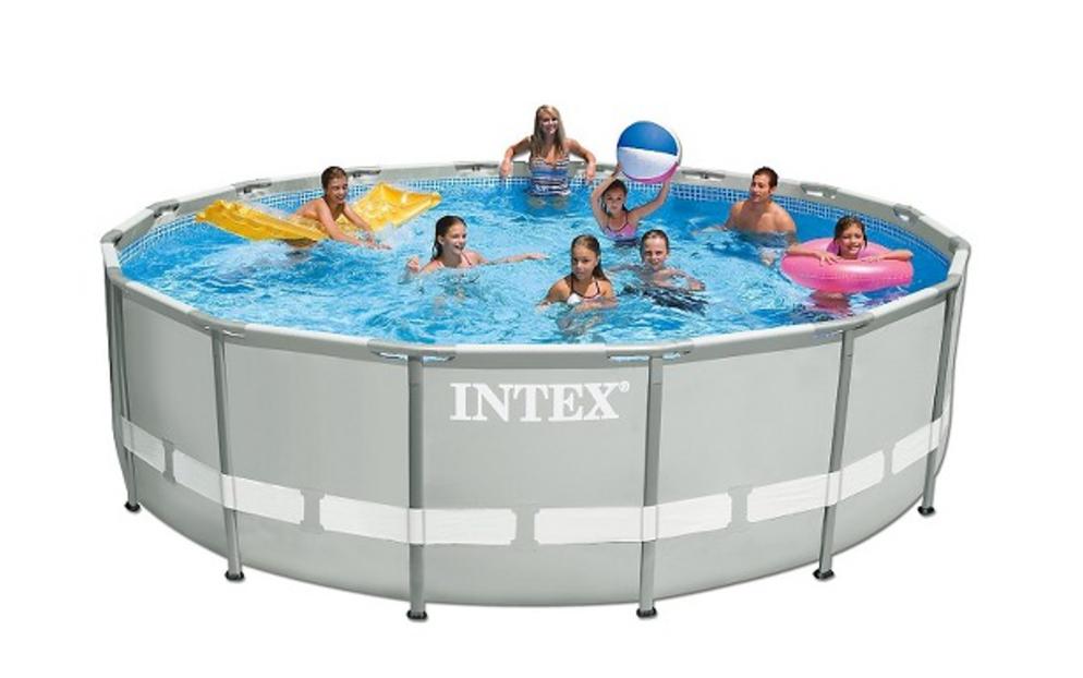 intex 15 39 x 48 ultra frame above ground pool ben 39 s bargains. Black Bedroom Furniture Sets. Home Design Ideas