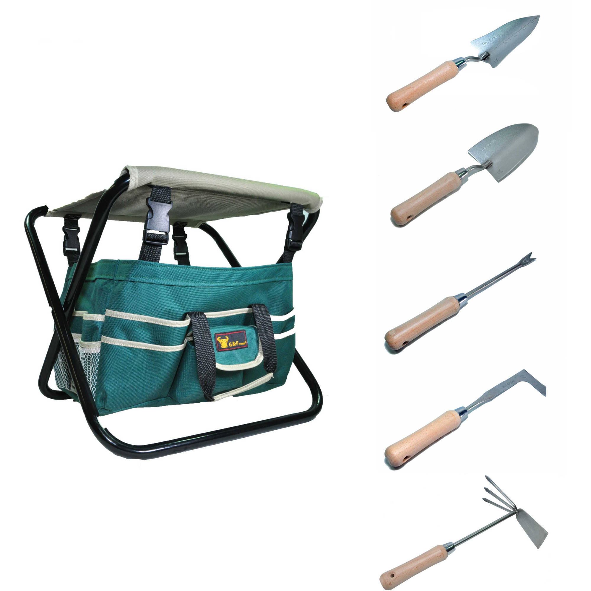 7 piece g f garden tool set at walmart ben 39 s bargains for Gardening tools walmart