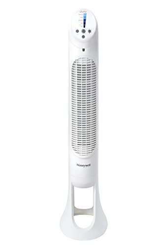 Honeywell HY260W Quiet Set 5-Speed Tower Fan  $35 at Amazon online deal