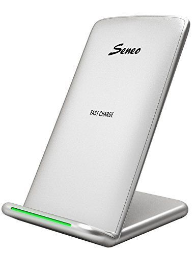 Seneo 2-Coils Qi Wireless Charging Pad  $15 at Amazon online deal