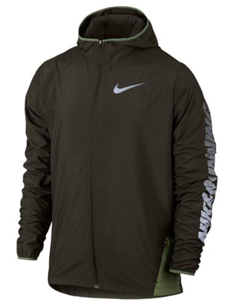 Nike Men's Water-Repellent Running Jacket  $32 at Macys online deal