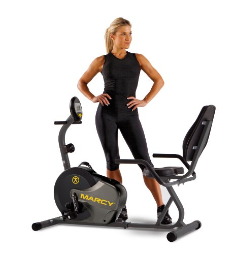 Marcy NS-716R Magnetic Resistance Recumbent Bike  $127 at Amazon online deal