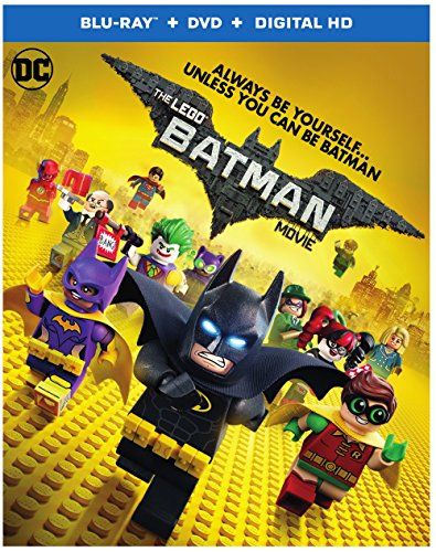 The Lego Batman Movie Blu-ray  $15 at Amazon online deal