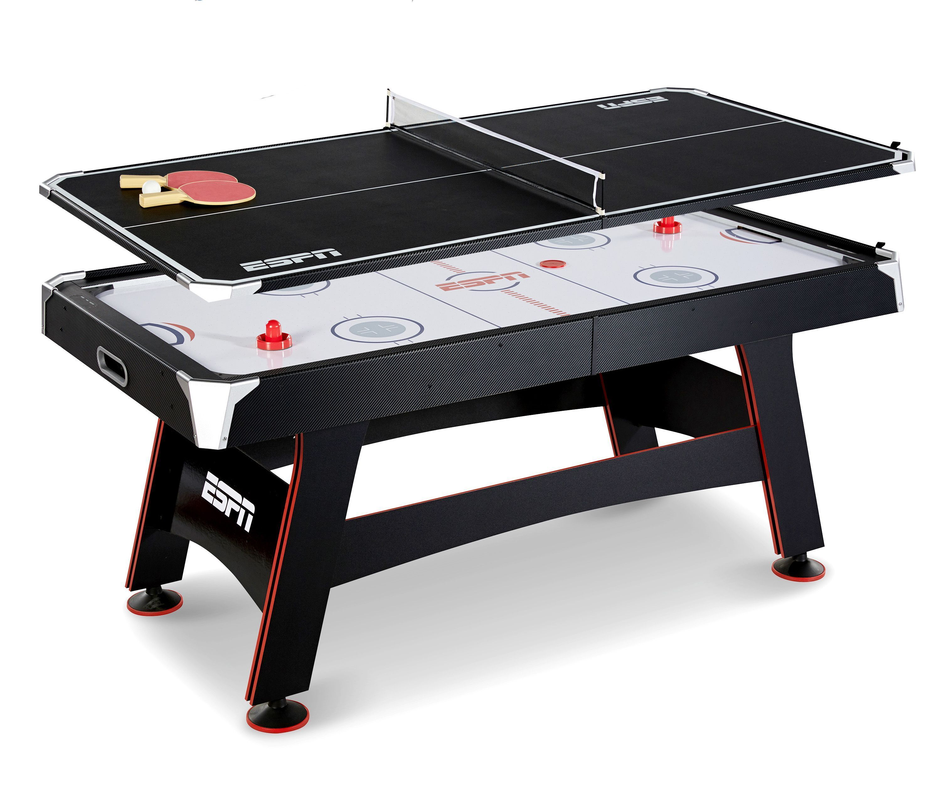 Espn 72 air powered hockey table 89 at walmart ben for 10 in 1 game table toys r us