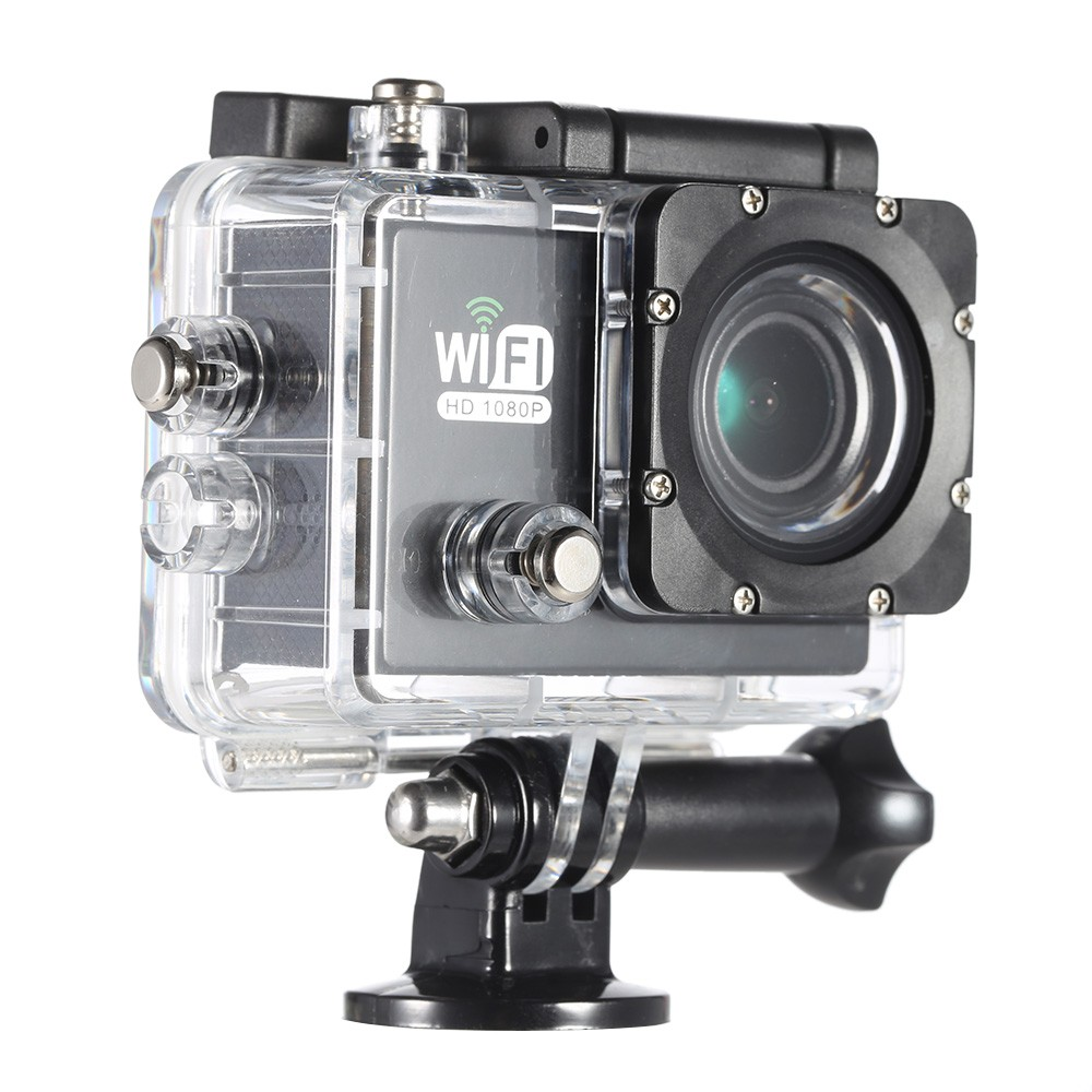 1080P FHD WiFi Waterproof Action Camera  $18 at TomTop online deal