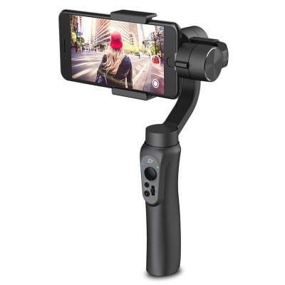 Smooth-Q 3-Axis Smartphone Gimbal Stabilizer  $104 at TomTop online deal