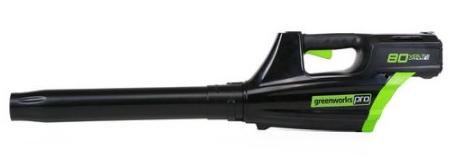 GreenWorks Pro GBL80320 80V 500CFM Cordless Blower  $75 at Amazon online deal