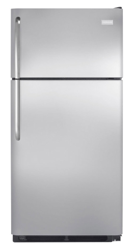 Frigidaire 18 cu. ft. Stainless Steel Top-Freezer Refrigerator  $499 at Lowe's online deal