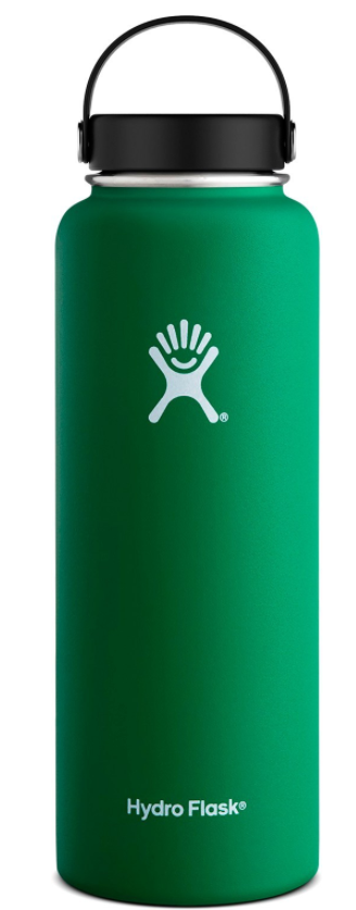 Hydro Flask 40-oz Wide-Mouth Vacuum Water Bottle  $21 at REI online deal