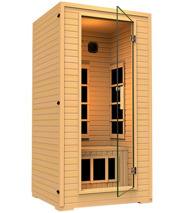JNH Lifestyles SG12HB Vivo 1-2 Person Far Infrared Sauna  $855 at Home.woot! online deal