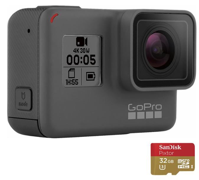 GoPro HERO5 Black 4K Action Camera  $300 at Best Buy online deal