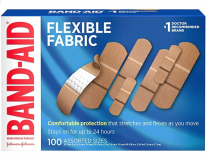 200-Ct Band-Aid Flexible Fabric Adhesive Bandages