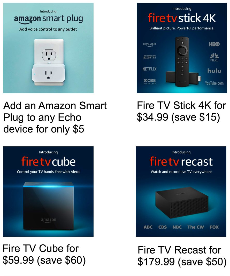 Fire TV Stick / Cube / Recast