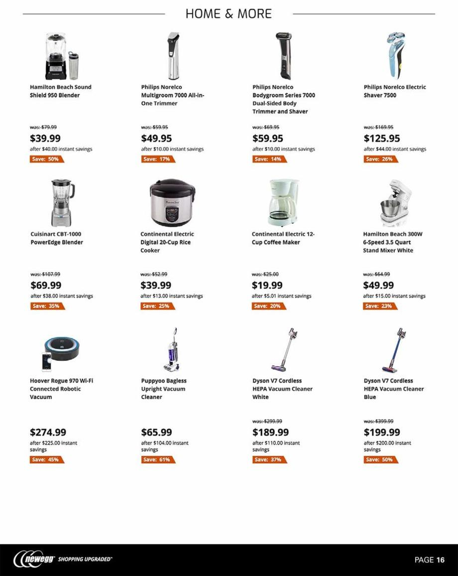 Small Appliances / Vacuums