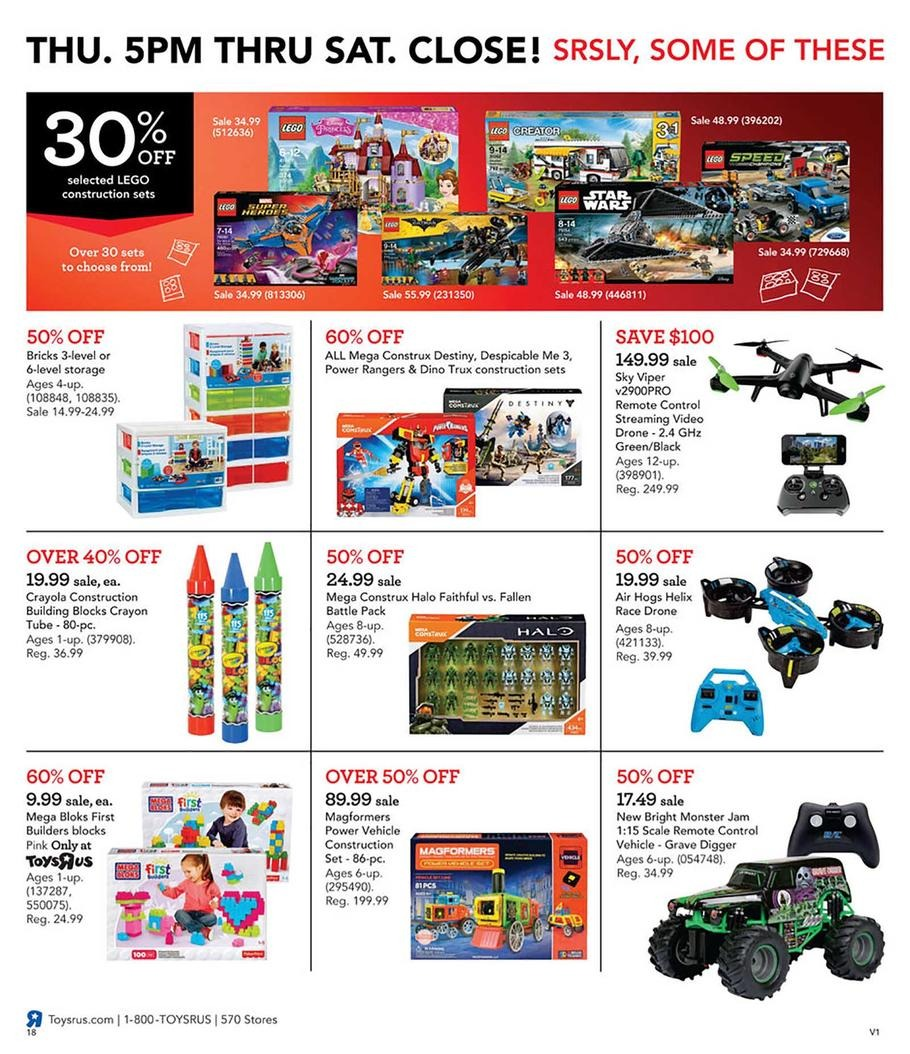LEGO / Toy Drones / RC Toys