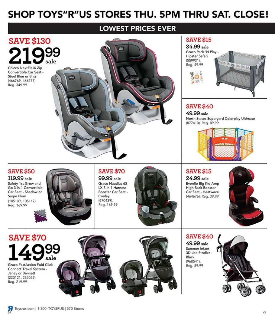 Car Seats / Strollers