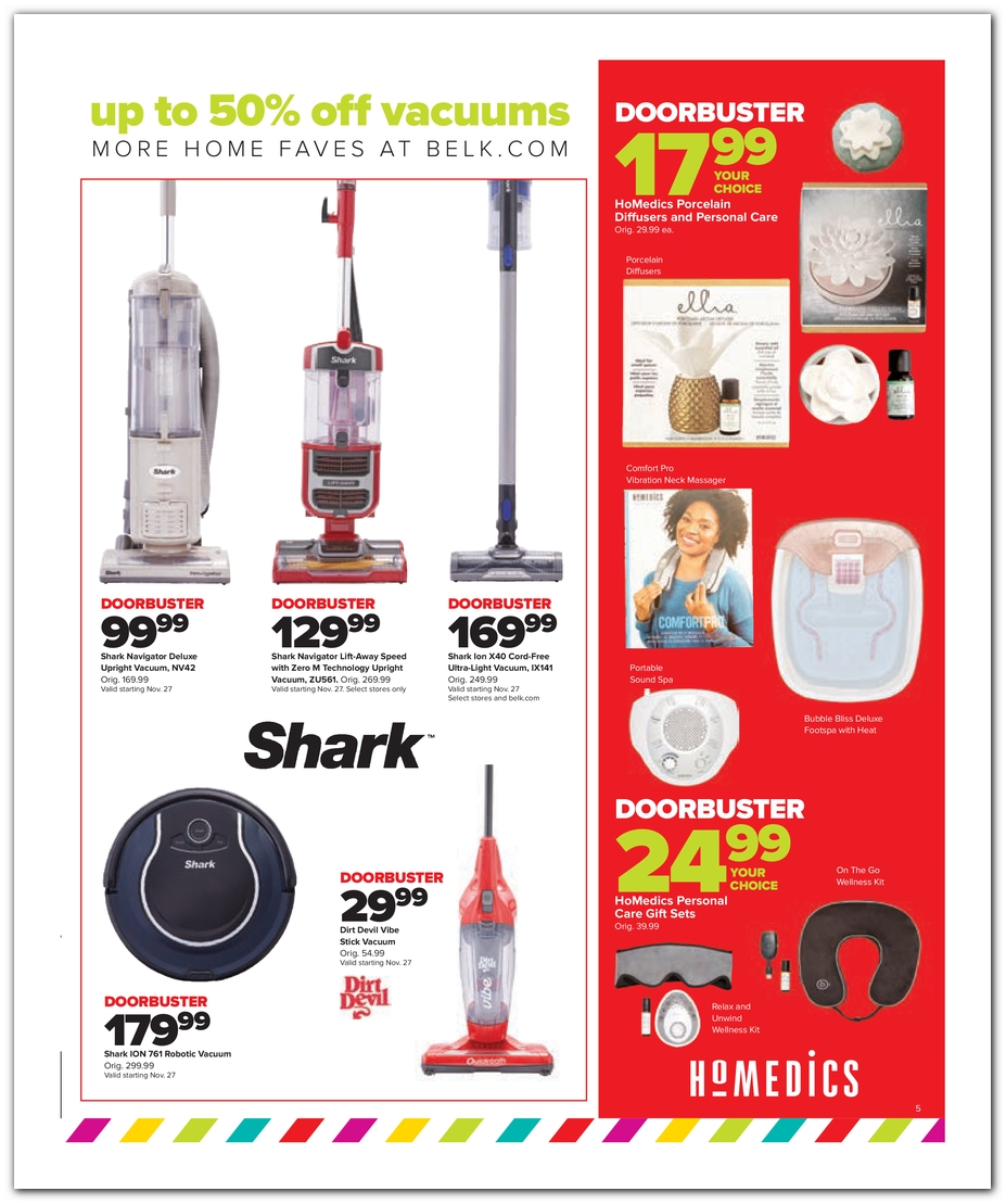 Vacuums / Personal Care