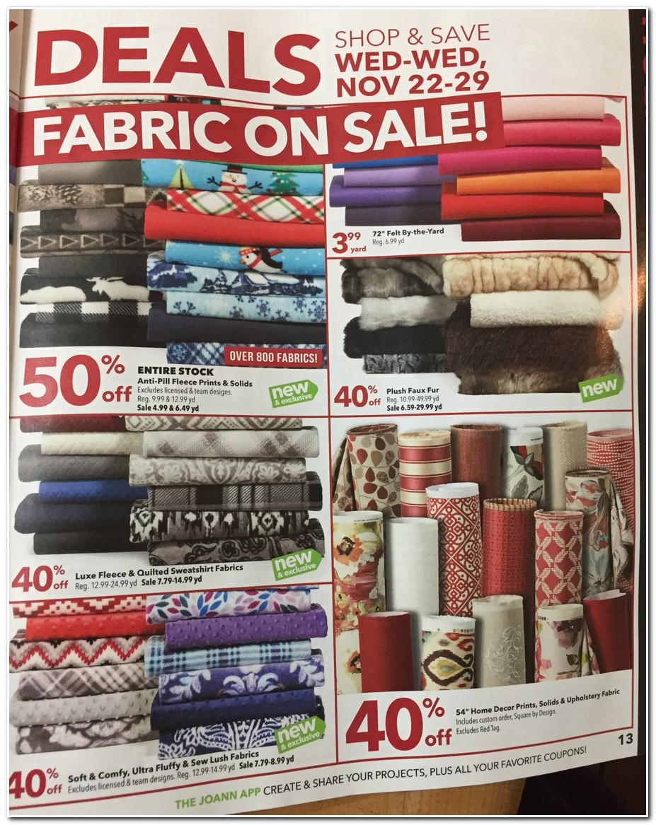 Milled has emails from Jo-Ann Fabric and Craft Store, including new arrivals, sales, discounts, and coupon codes.