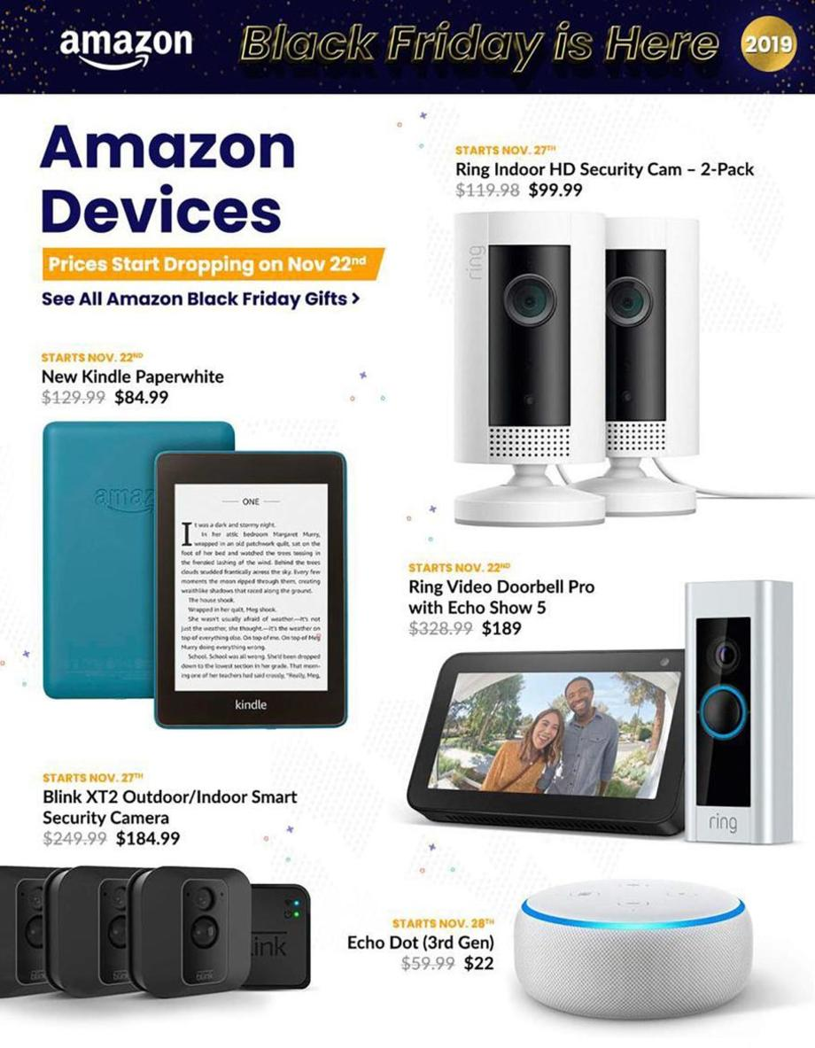 Kindle / Ring Cameras / Echo Dot