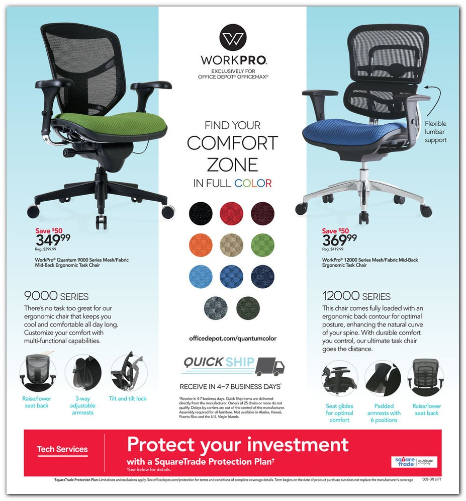 WorkPro Office Chairs