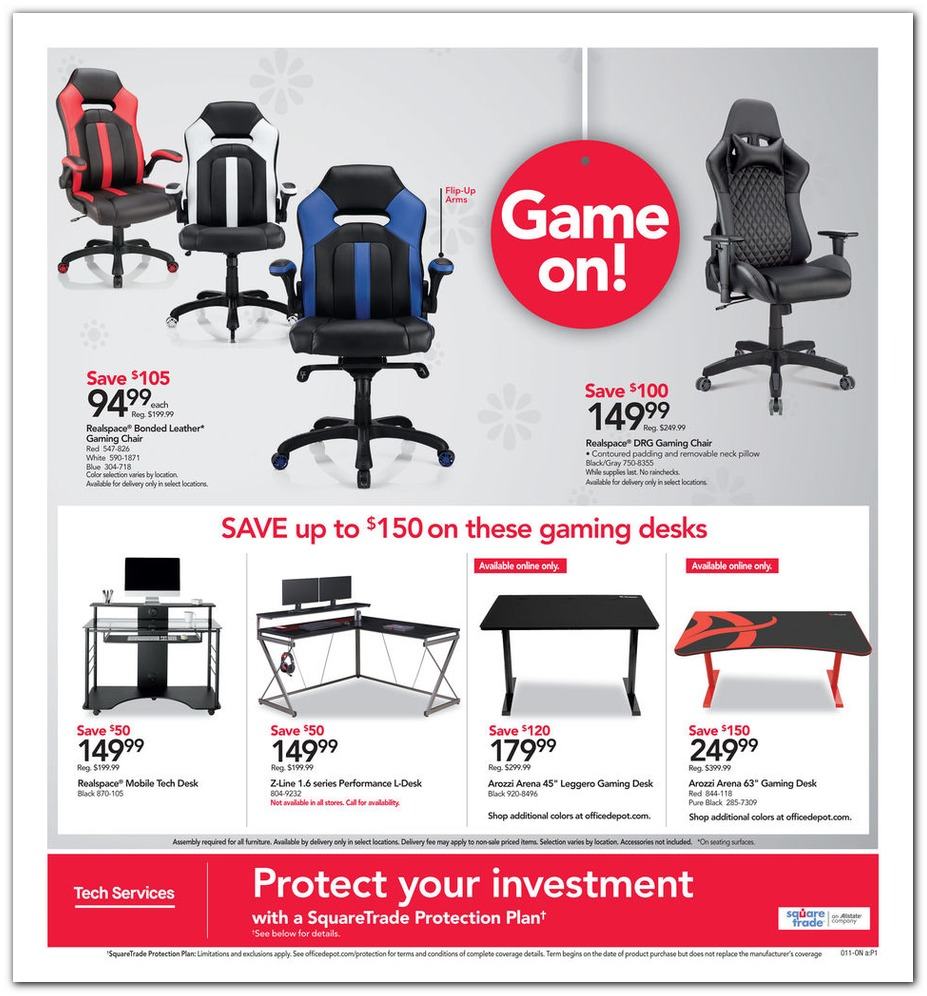 Gaming Chairs & Desks
