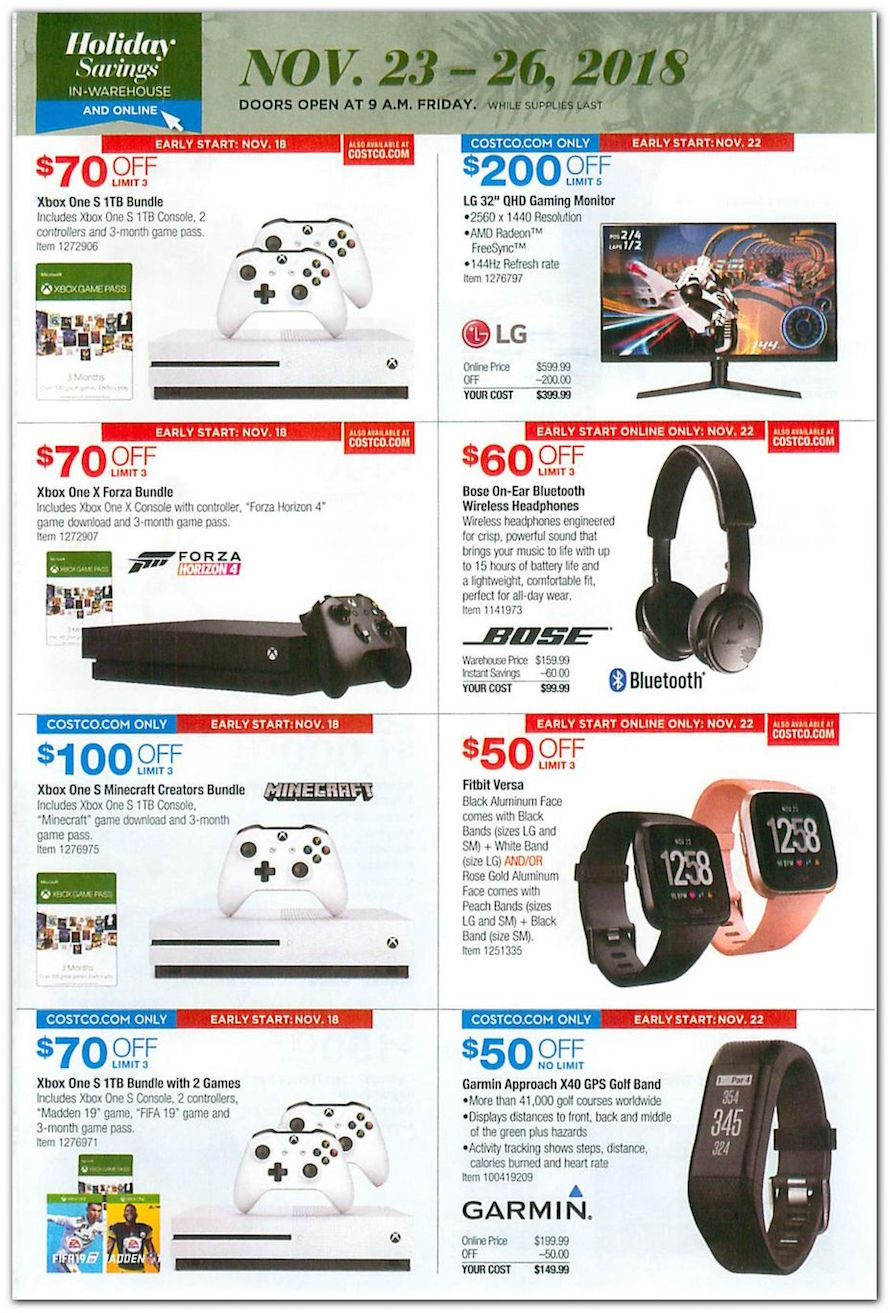 Xbox One / Fitness Watches