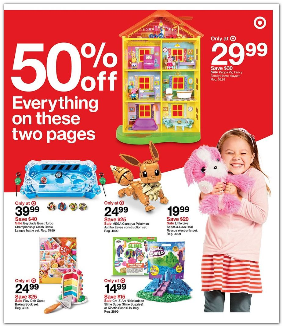 50% off Toys