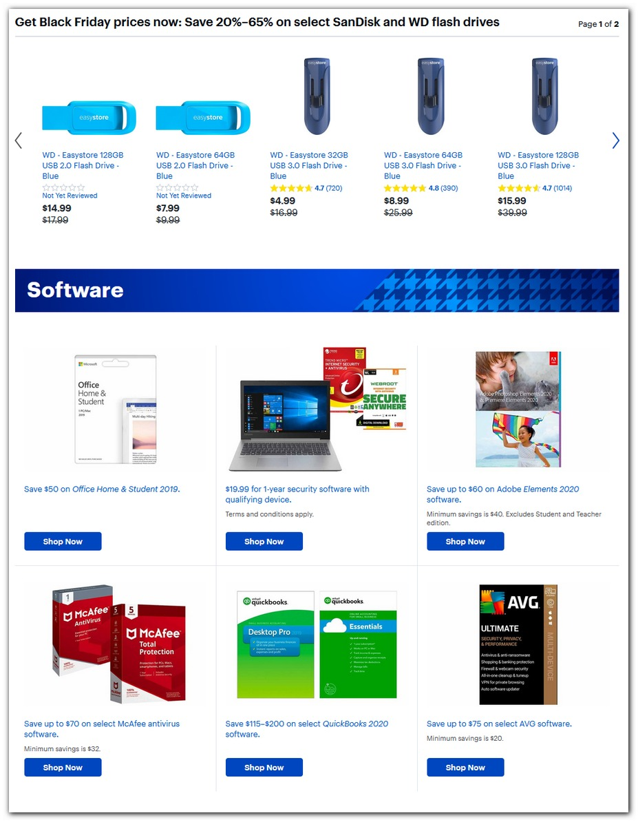 Flash Drives / PC Software
