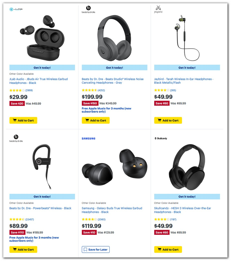 Wireless Headphones Continued