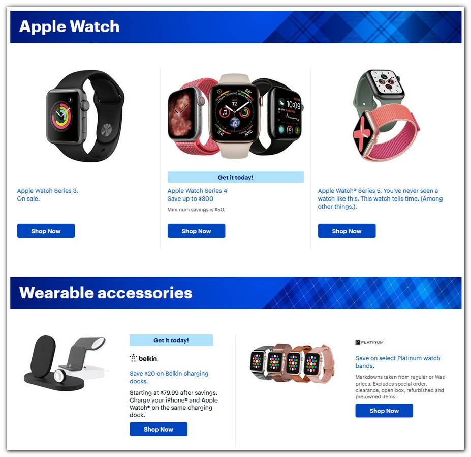 Apple Watch / Wearable Accessories