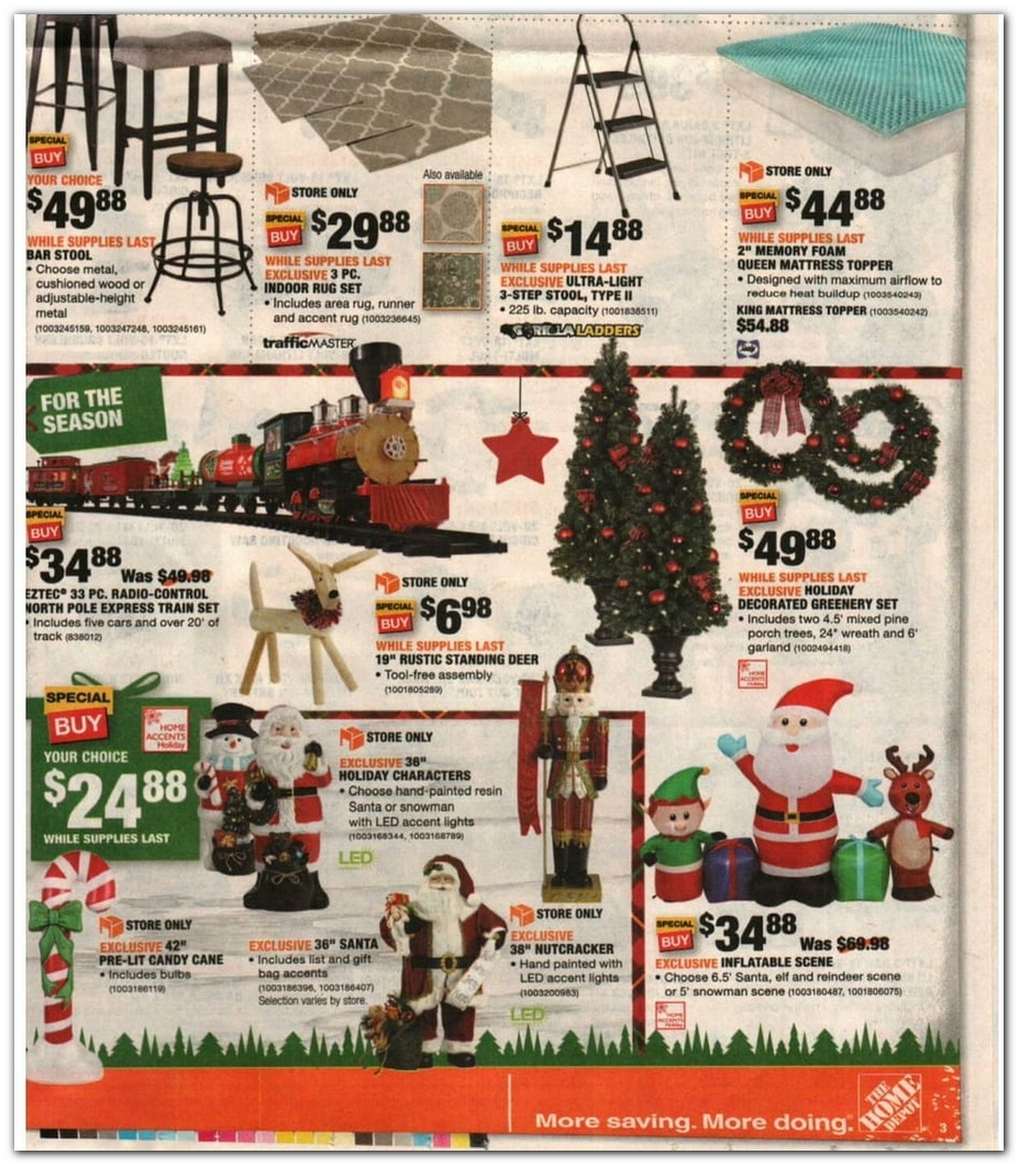Holiday Decorations / Stepladder