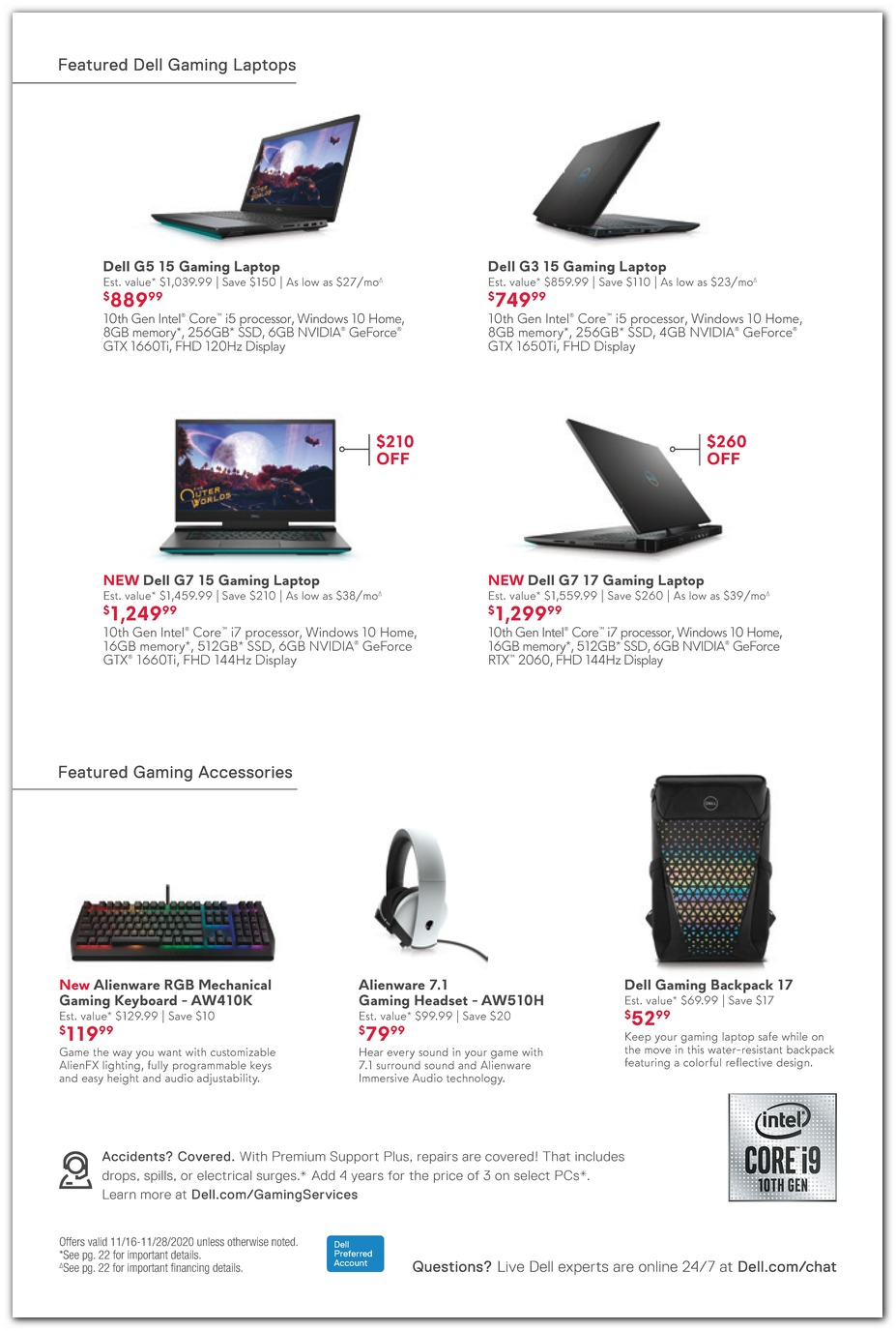 Gaming Laptops / Keyboard