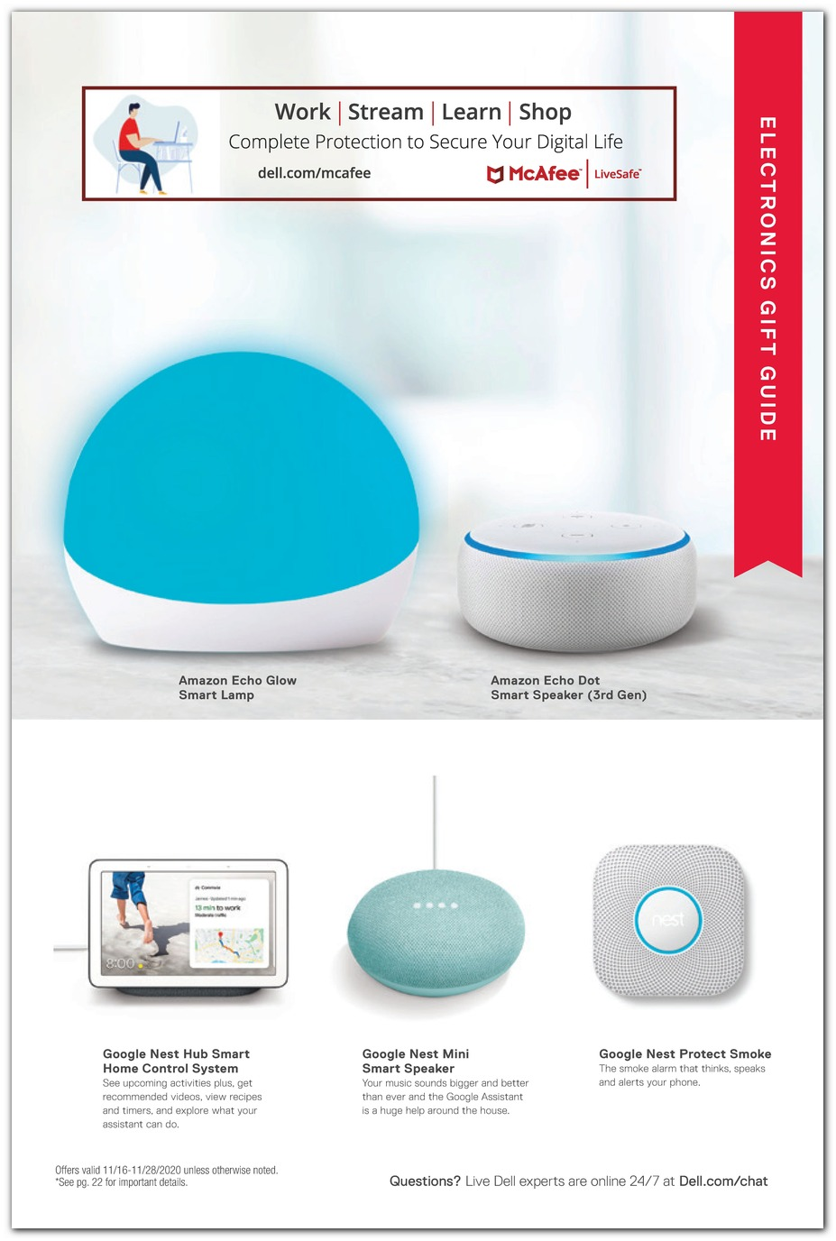 Echo Dot / Nest Hub / Nest Mini