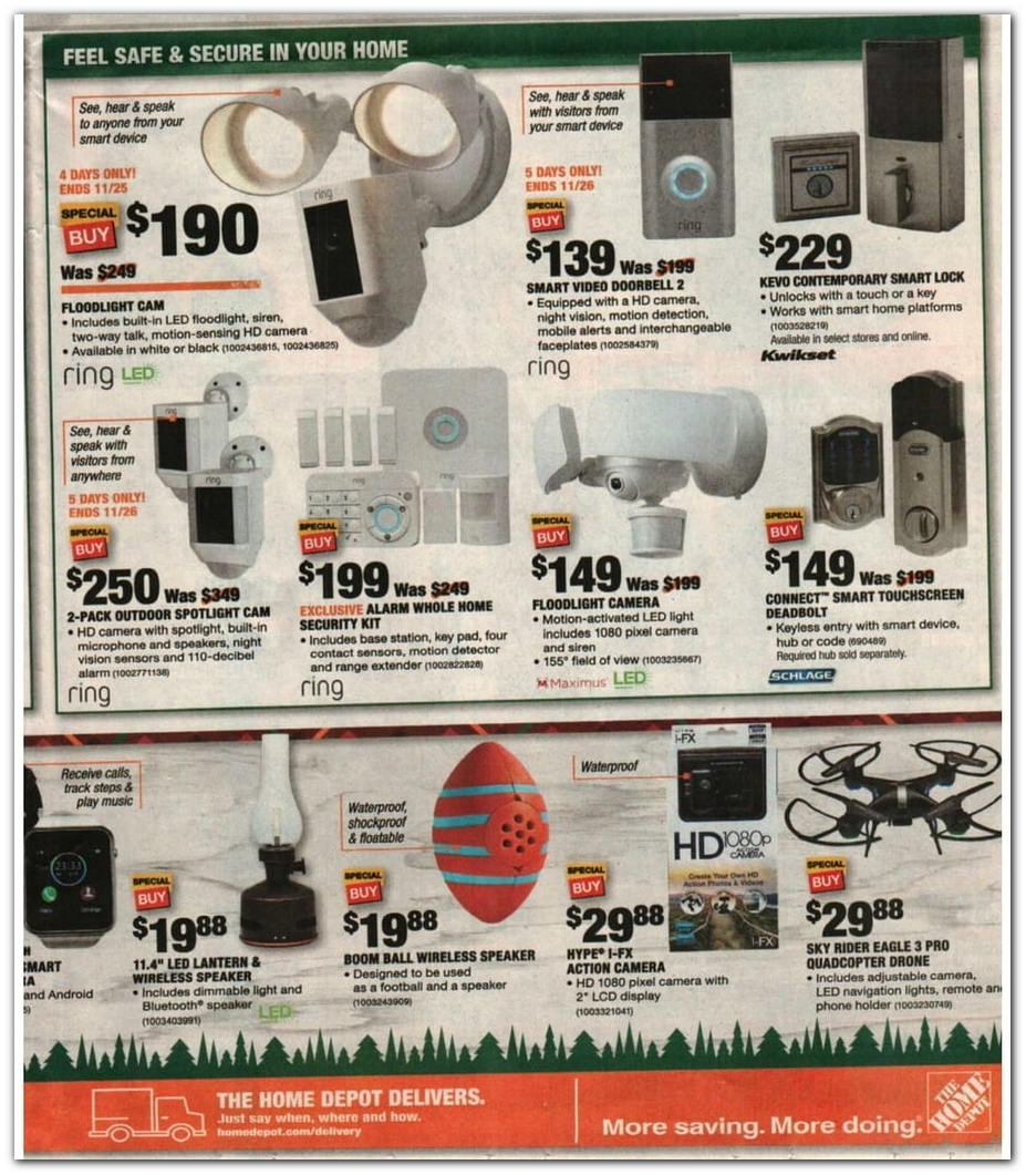 Drone / Ring / Security Lights