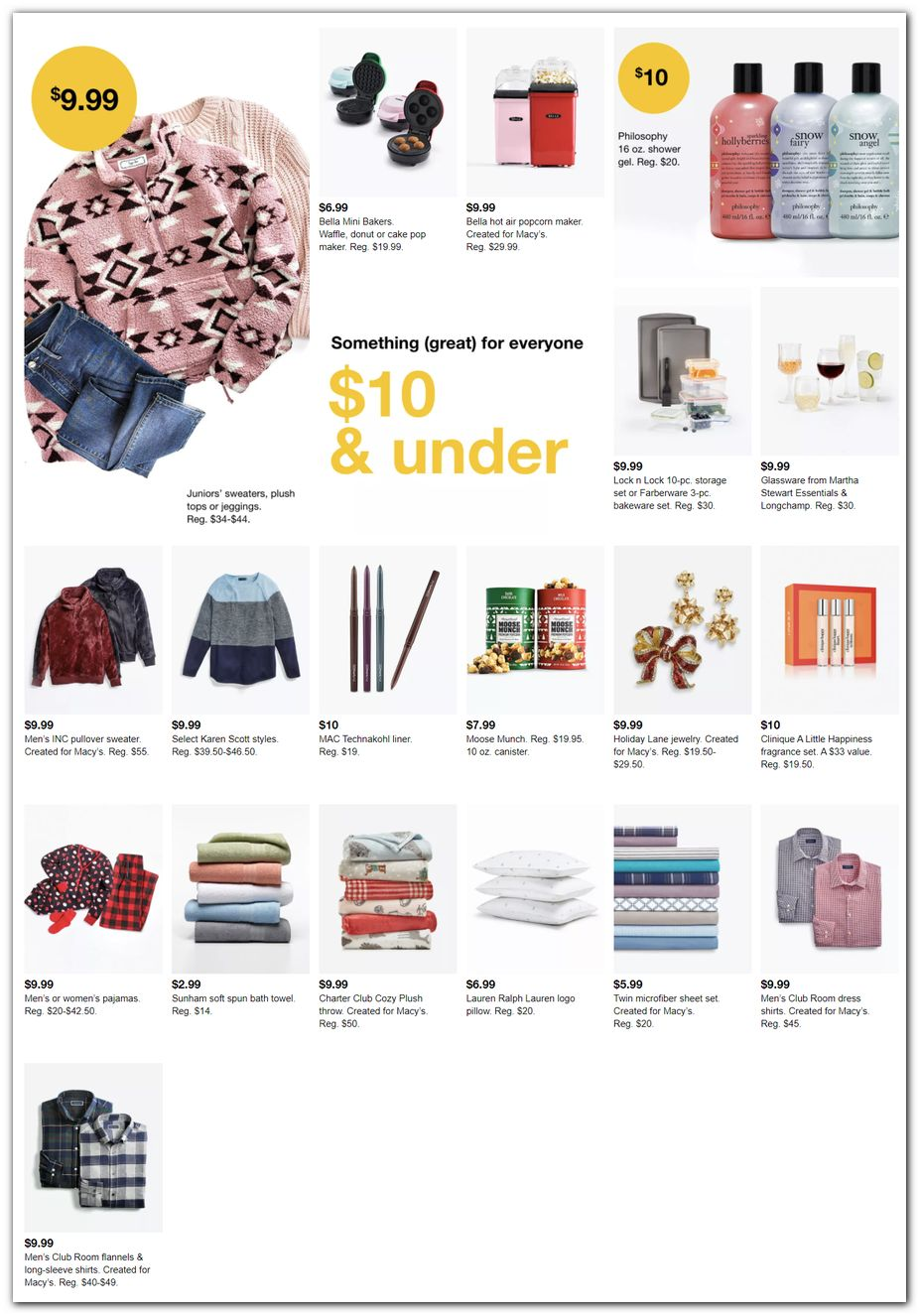 Under $10 Gifts