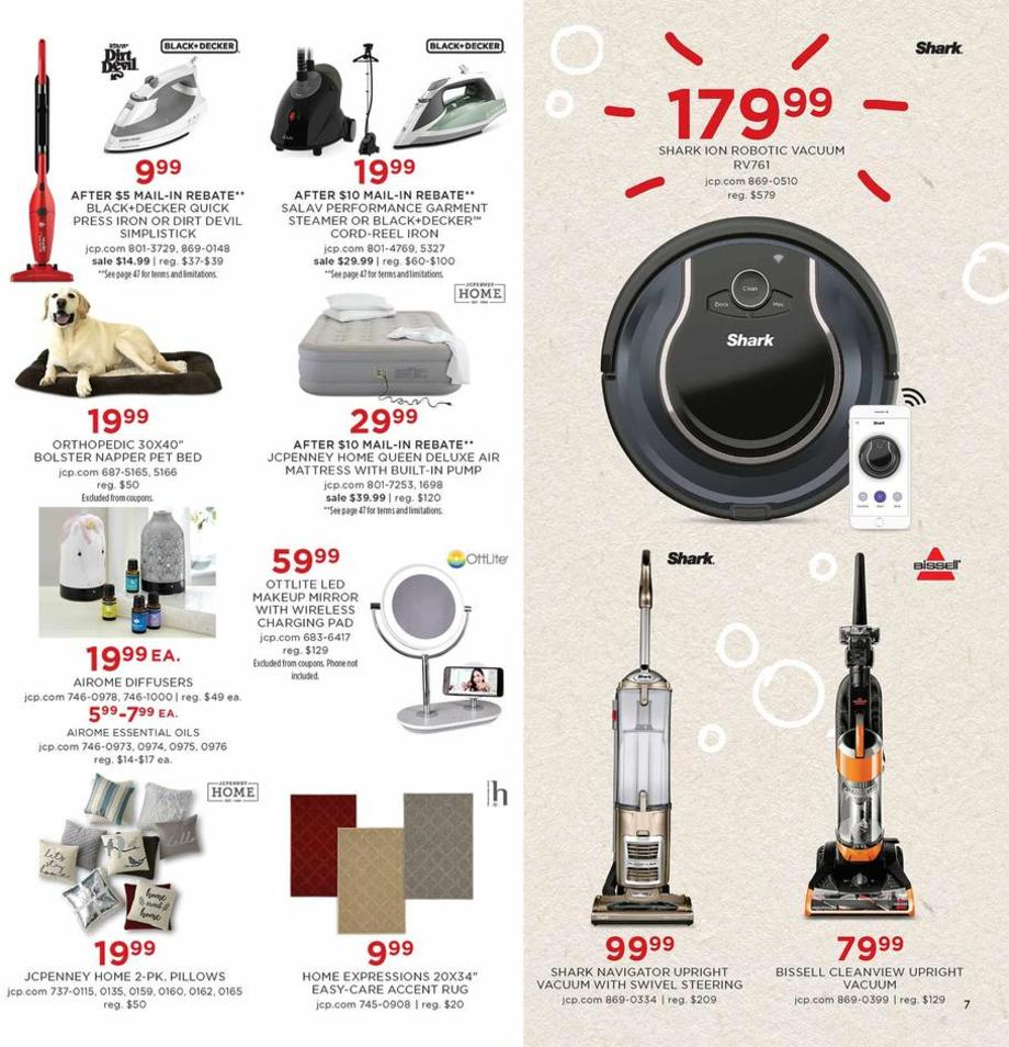 Vacuums / Pet Bed / Rugs