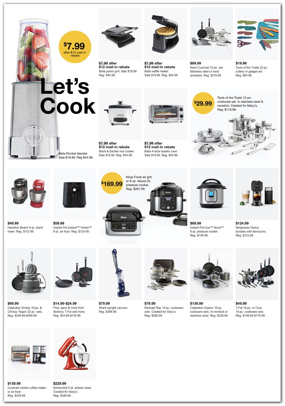 Small Appliances / Cookware Sets