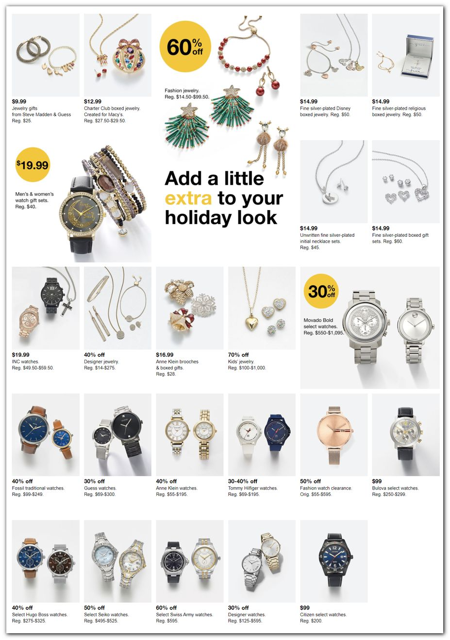 Watches / Jewelry Gifts