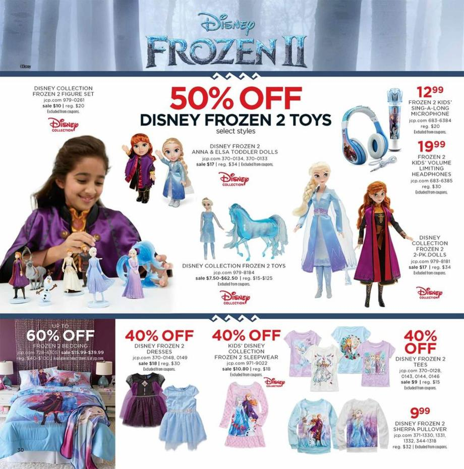50% off Frozen Toys