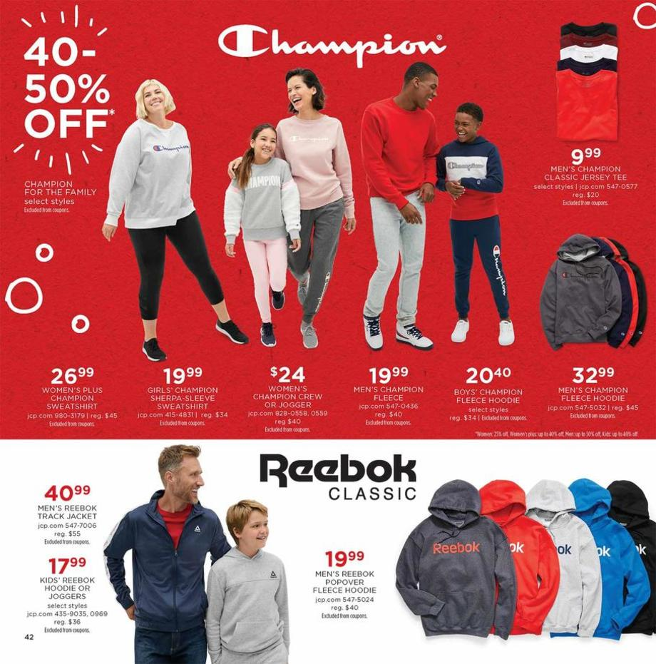 Champion clothing / Reebok