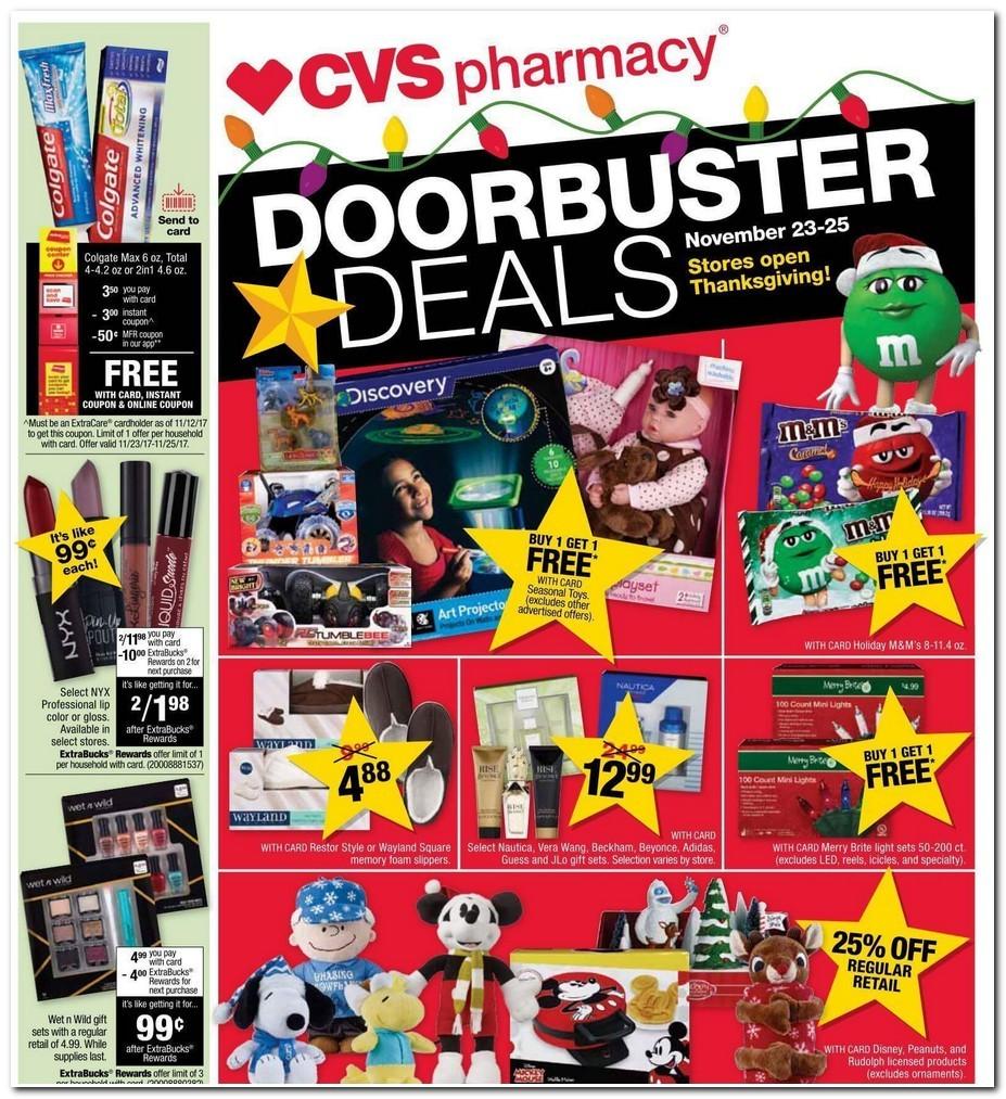Black Friday - CVS Pharmacy Deals