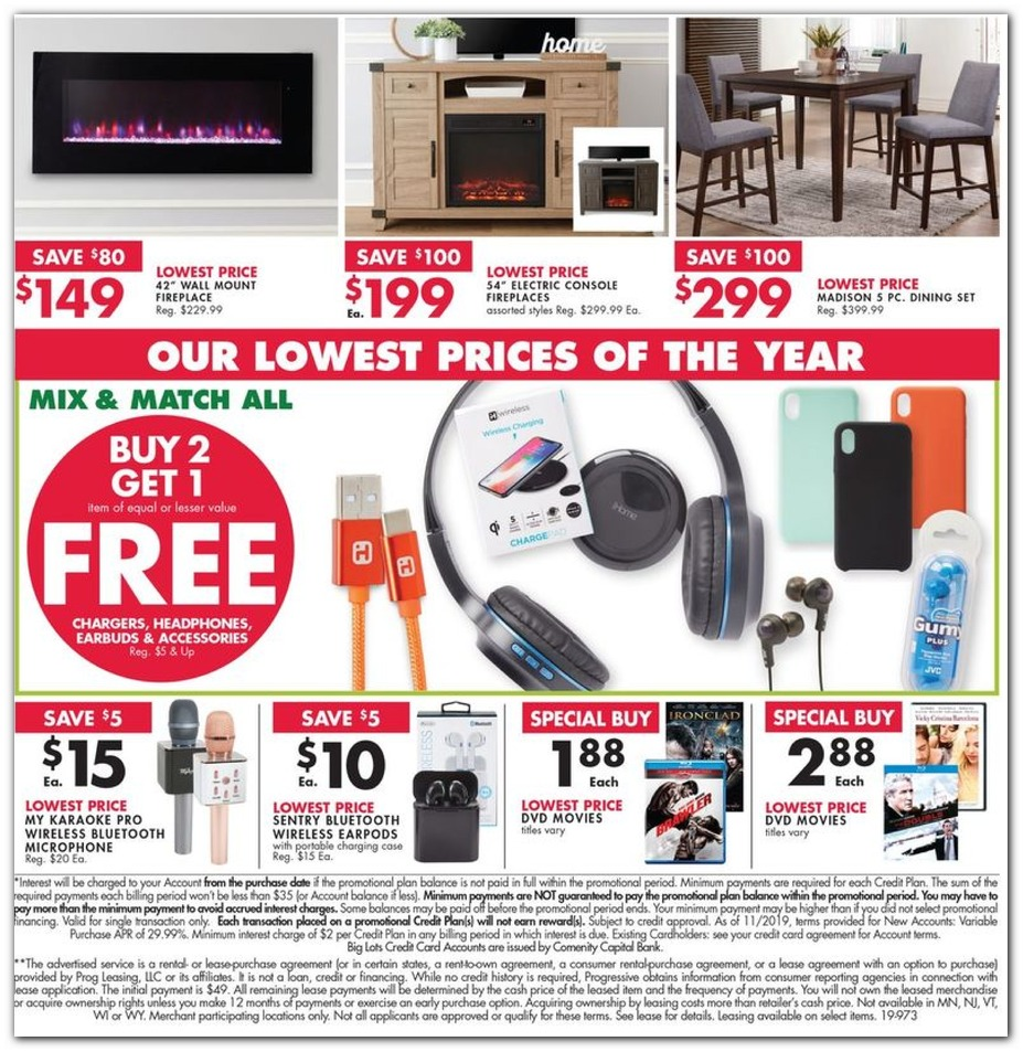 Electric Fireplaces / Buy 2 Get 1