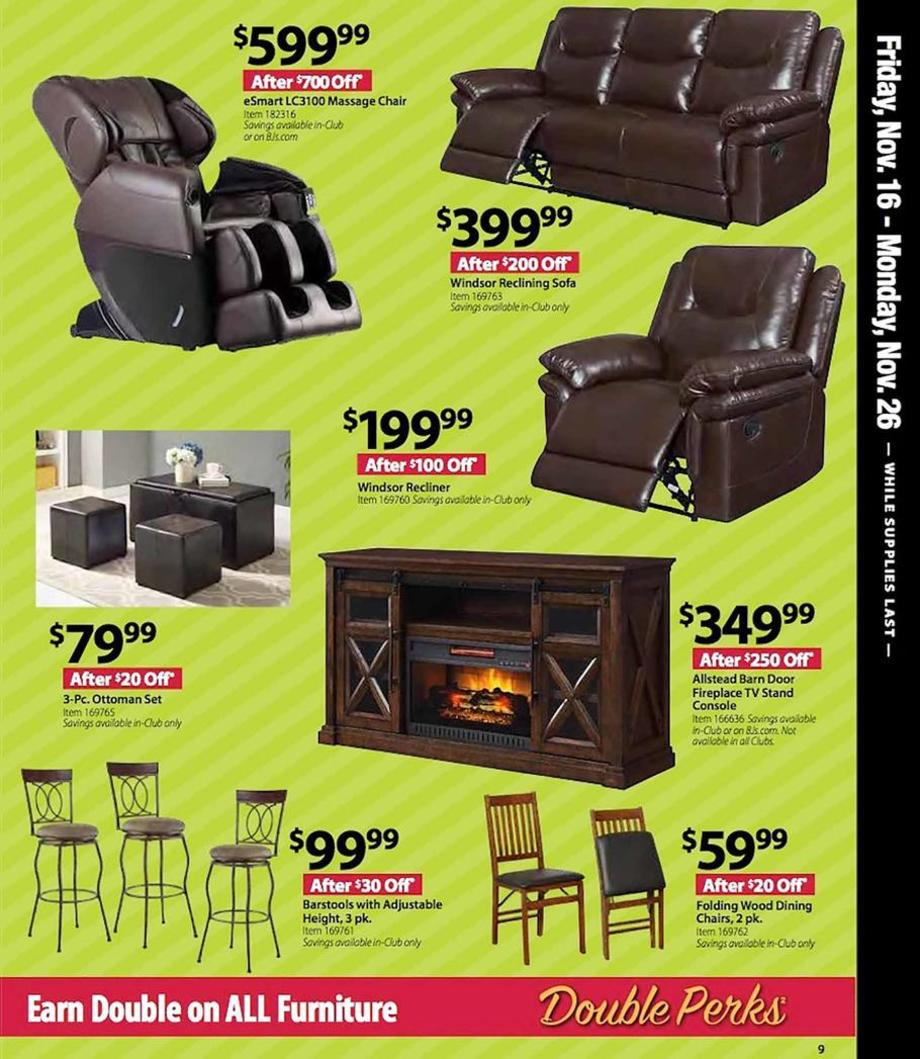 Recliners / Barstools